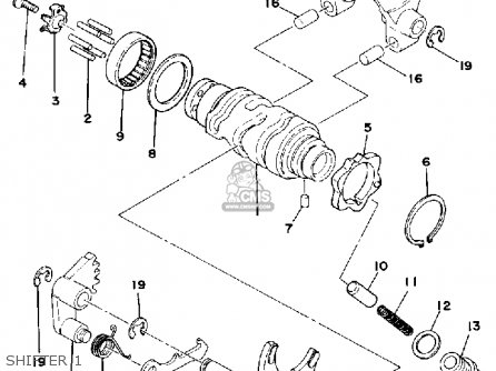Xj550 Bobber Wiring likewise Yamaha R1 Wiring Diagram together with Rd400 Wiring Diagram further Sr500 Engine Diagram in addition Partslist. on yamaha sr500 wiring diagram