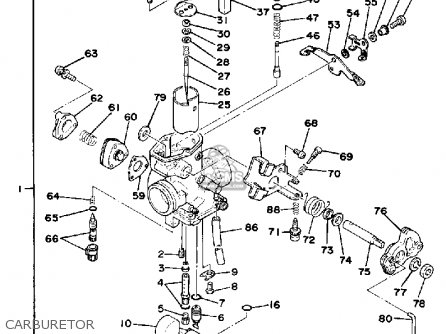 Wiring Diagram Yamaha Xt500 1979 Eklablog Co