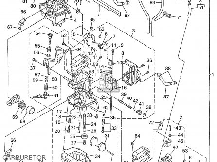 Yamaha Golf C Carburetor Diagram on yamaha starter generator wiring diagram
