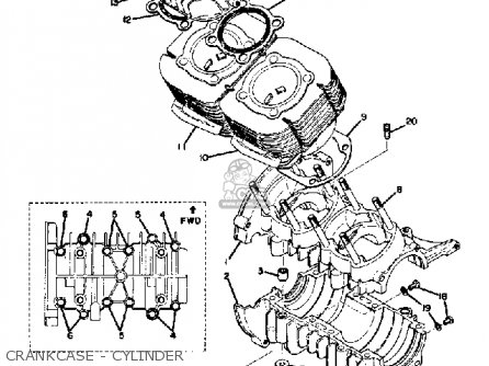 Yamaha Sw433c 1973 Parts Lists And Schematics