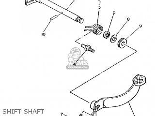 Yamaha T50 1986 2fm England 262fm-310e1 Shift Shaft