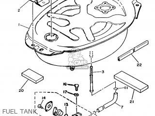 Yamaha T80 1986 2fl England 262fl-310e1 Fuel Tank