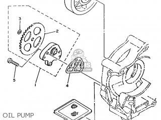 Yamaha T80 1986 2fl England 262fl-310e1 Oil Pump