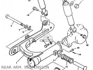 Yamaha T80 1986 2fl England 262fl-310e1 Rear Arm  Suspension