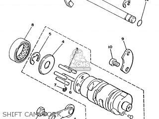 Yamaha T80 1986 2fl England 262fl-310e1 Shift Cam  Fork