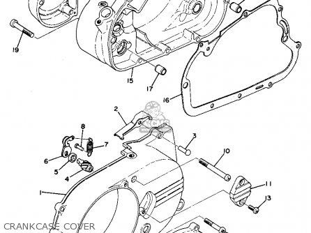 Yamaha Ta125 Usa Crankcase Cover