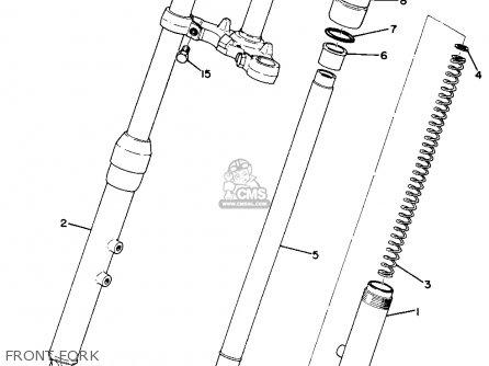 Yamaha Ta125 Usa Front Fork