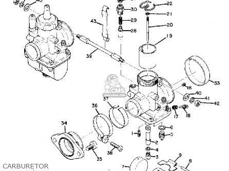 Yamaha Td3 1972 1973 1974 Usa Carburetor