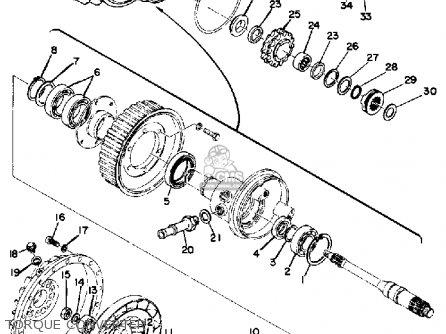 Yamaha Tl433f 1974 Torque Converter
