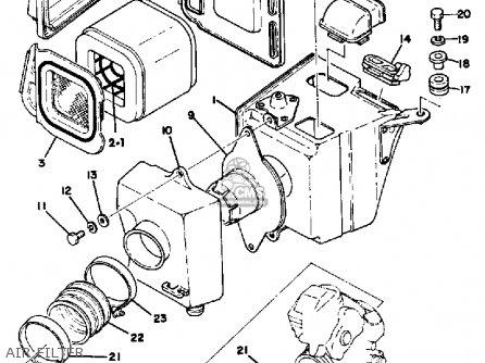 Yamaha Tt500 Offroad 1978 Usa Canada Parts Lists And Schematics