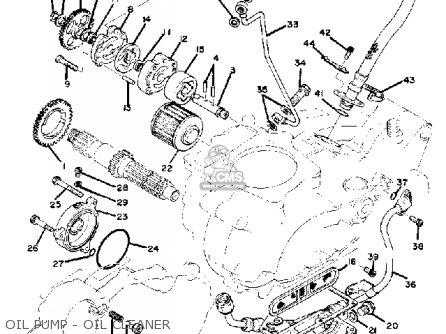 Yamaha Tt500 Offroad 1980 A Usa Parts Lists And Schematics