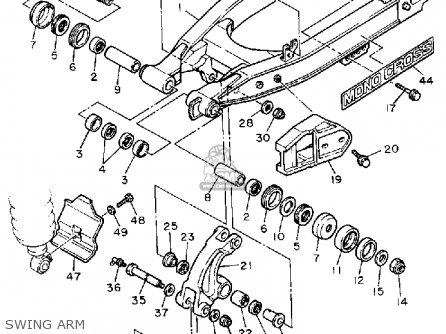 Yamaha Tt600 Offroad 1986 G Usa Parts Lists And Schematics