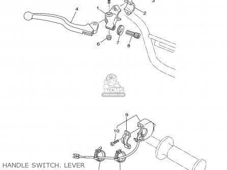 Yamaha Tt90r Tt90rc 2000 y Usa California Handle Switch  Lever