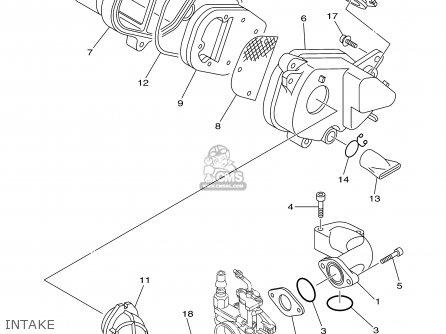 Yamaha Tt90r Tt90rc 2000 y Usa California Intake