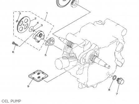 Yamaha Tt90r Tt90rc 2000 y Usa California Oil Pump