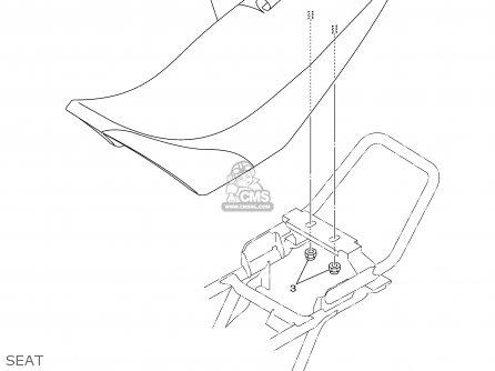Yamaha Tt90r Tt90rc 2000 y Usa California Seat
