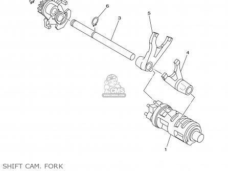 Yamaha Tt90r Tt90rc 2000 y Usa California Shift Cam  Fork