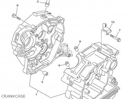 yamaha ttr125 ttr125l 2003 3 usa large wheel model parts lists Yamaha TTR 200Cc yamaha ttr125 ttr125l 2003 3 usa large wheel model crankcase