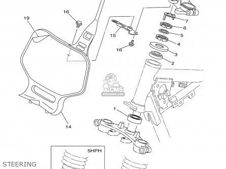 yamaha ttr125 ttr125l 2003 3 usa large wheel model parts lists Yamaha TTR 110Cc yamaha ttr125 ttr125l 2003 3 usa large wheel model steering