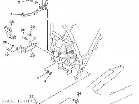 Yamaha Ttr225 Ttr225c 1999 X Usa California Parts Lists And Schematics