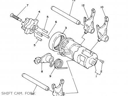 Yamaha Ttr225 Ttr225c 2001 1 Usa California Parts Lists And Schematics
