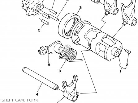 Diagram Of 2003 Ttr225 Ttr250rc Yamaha Motorcycle Carburetor Diagram