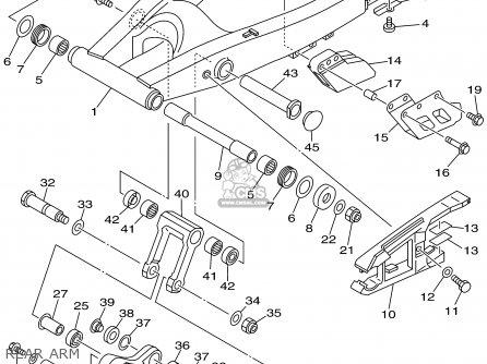 Yamaha Ttr250 Ttr250c 2001 1 Usa California Parts Lists And Schematics