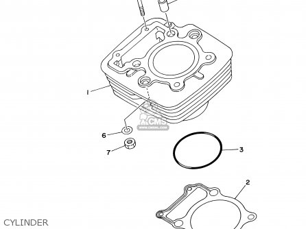 Yamaha Ttr250 Ttr250c 2003 3 Usa California Parts Lists And Schematics