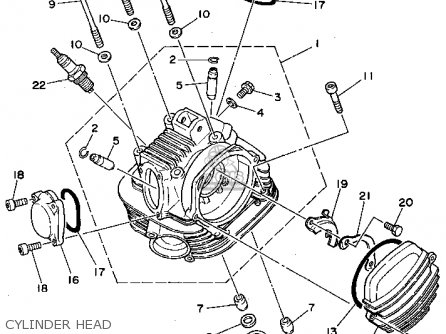 Yamaha Tw200 Parts Diagram
