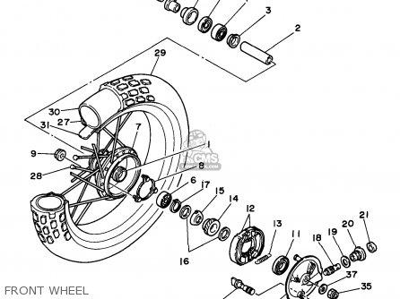 Partslist as well Yerf Dog Wiring Diagram furthermore Honda Cb 350 Engine Diagram additionally Wiring Diagram For Yamaha Gauges additionally Yamaha Tw200 Carburetor Schematic. on tw200 wiring diagram