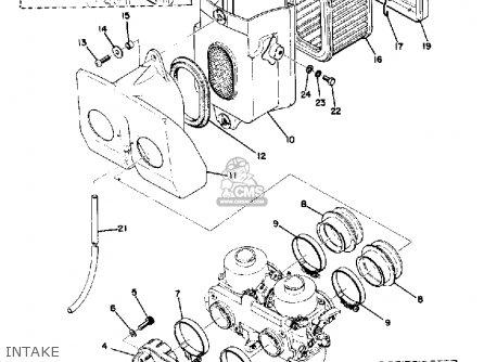 Yamaha Tx500 1973 Usa Intake