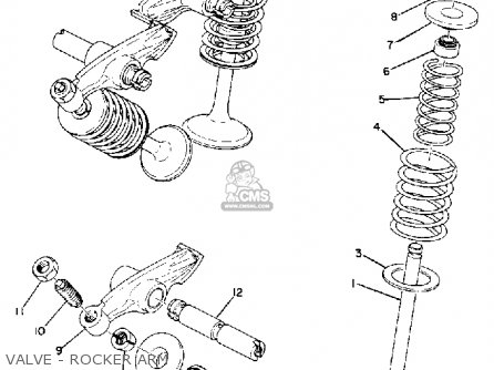 Yamaha Tx 750 Engine Diagram