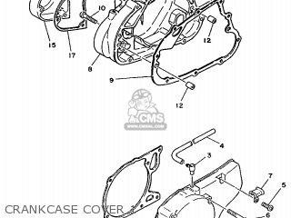 Yamaha Ty125 1989 3su1 France 293su-351f1 Crankcase Cover 1