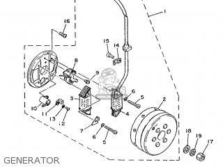 Yamaha Ty125 1989 3su1 France 293su-351f1 Generator