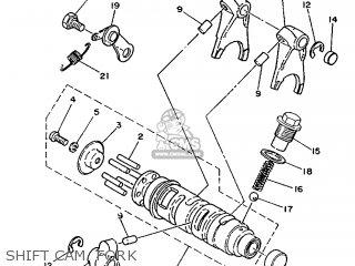 Yamaha Ty125 1989 3su1 France 293su-351f1 Shift Cam  Fork