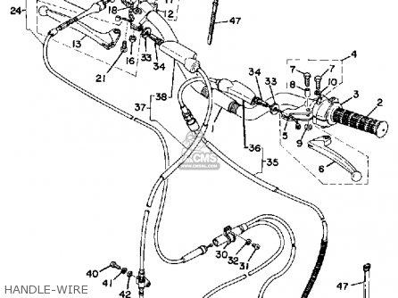 yamaha ty250d 1977 parts list partsmanual partsfiche. Black Bedroom Furniture Sets. Home Design Ideas