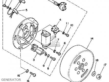 Yamaha Ty350 1986 g Usa Generator