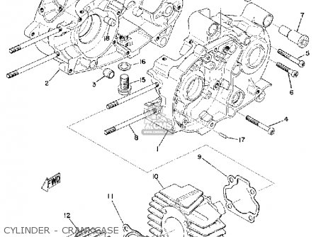 yamaha u7e 1969 parts lists and schematics rh cmsnl com Yamaha 200 Scrambler Yamaha Morphous
