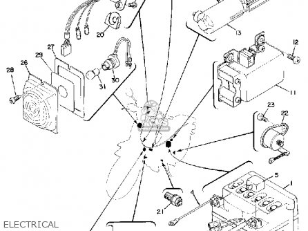 yamaha u7e 1969 parts lists and schematics rh cmsnl com Yamaha PW80 Yamaha Roadliner