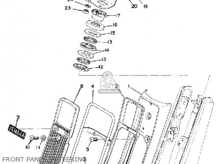 yamaha u7e 1969 parts lists and schematics rh cmsnl com Yamaha YJ2 Yamaha 200 Scrambler