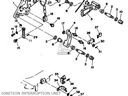 Yamaha V6 4 3 Yems 1990 Engine Parts Lists And Schematics