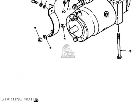 Yamaha V6 4 3 Yems 1990 Engine Parts Lists And Schematics