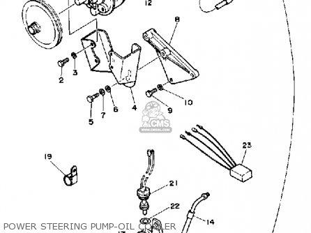 Yamaha V8 5 0 Yems 1990 Engine Parts Lists And Schematics