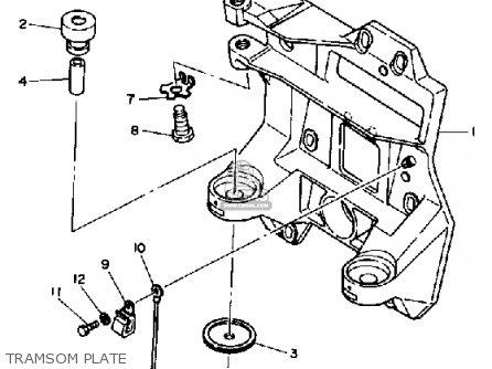Yamaha V8 Intermediate Drive 7 4 1992 Parts Lists And Schematics