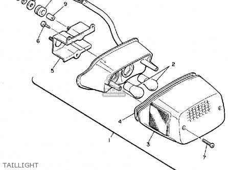 Yamaha Vmx1200 1988 V Max1200 Usa Parts Lists And Schematics