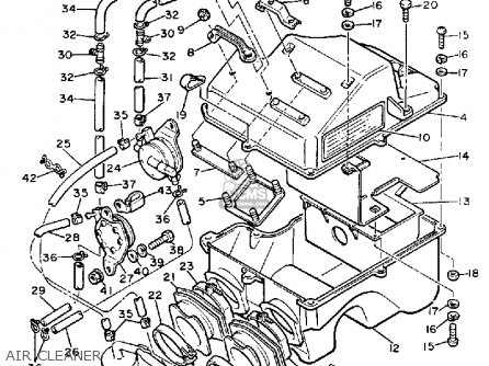 Max Vmx540j Yamaha Snowmobile Engine Bracket Diagram And Parts