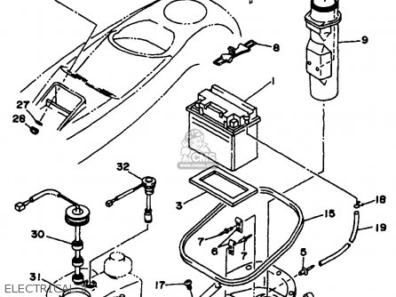 4 Cylinder Marine Engine Diagram