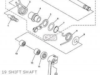 yamaha wr250x 2009 32d6 europe 1h32d 300ea parts lists and schematics Yamaha Motor Diagrams yamaha wr250x 2009 32d6 europe 1h32d 300ea 19 shift shaft