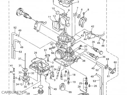 yamaha wr400f 2000  y  usa parts lists and schematics