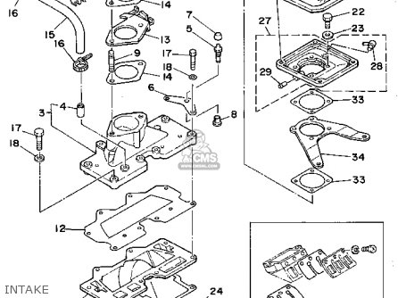 Yamaha Wra650q 1992 Fj0 Waverunner Iii Parts Lists And Schematics